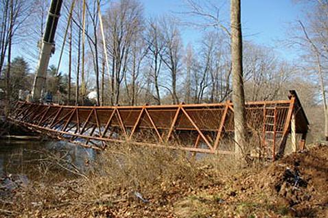 Stony Brook pedestrian bridge