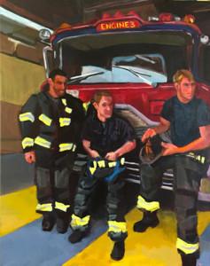 firemen art