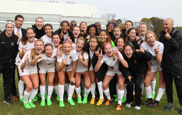 Princeton women's soccer vs. Cornell