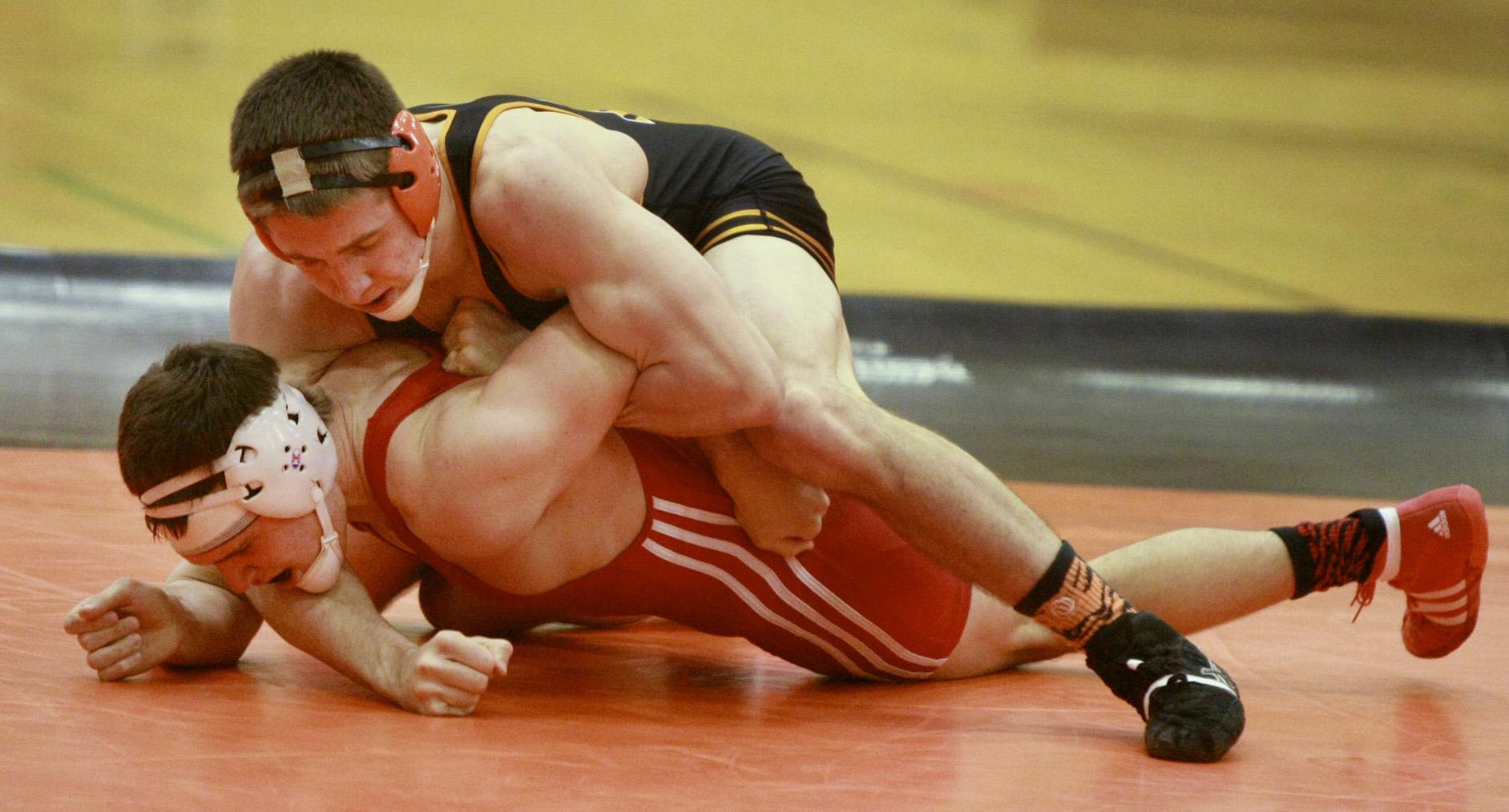 Brett Harner 184 lb bout