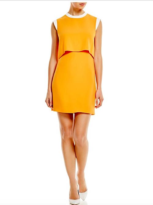 2 Sandro, Rupert Color Block Dress