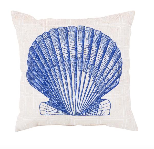 Seashell Outdoor Pillow