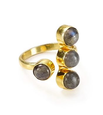 Bloomingdales, Argento Vivo Labradorite Ring, $54.60