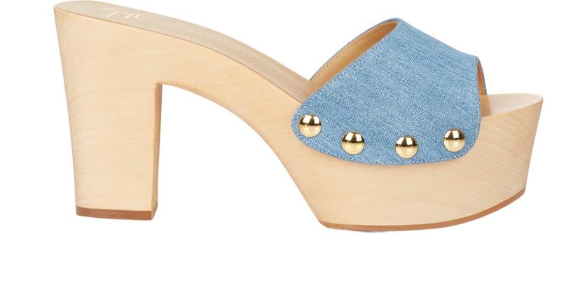 Giuseppe Zanotti Platform-Heel Clogs
