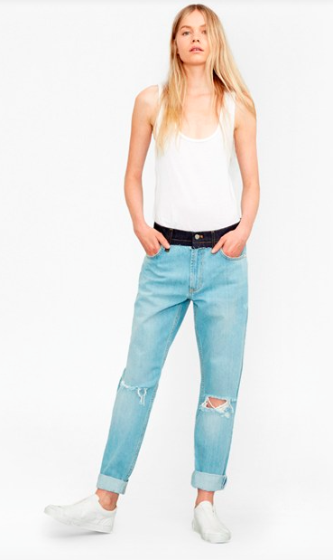 The Mash Up Denim Boyfit Jeans