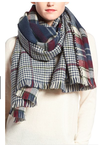 reversible-plaid-check-scarf-1