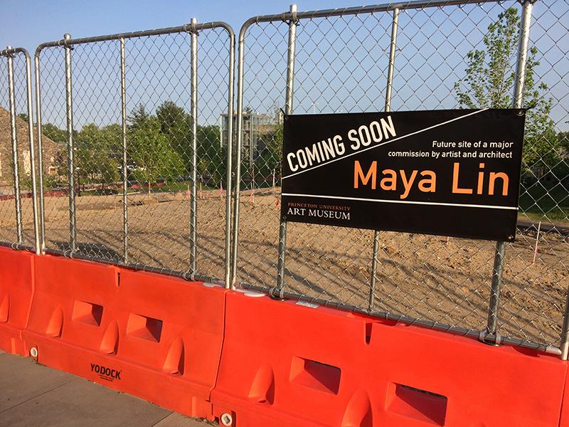 "Maya Lin's ""Princeton Line"" Will Take Shape Adjacent to"