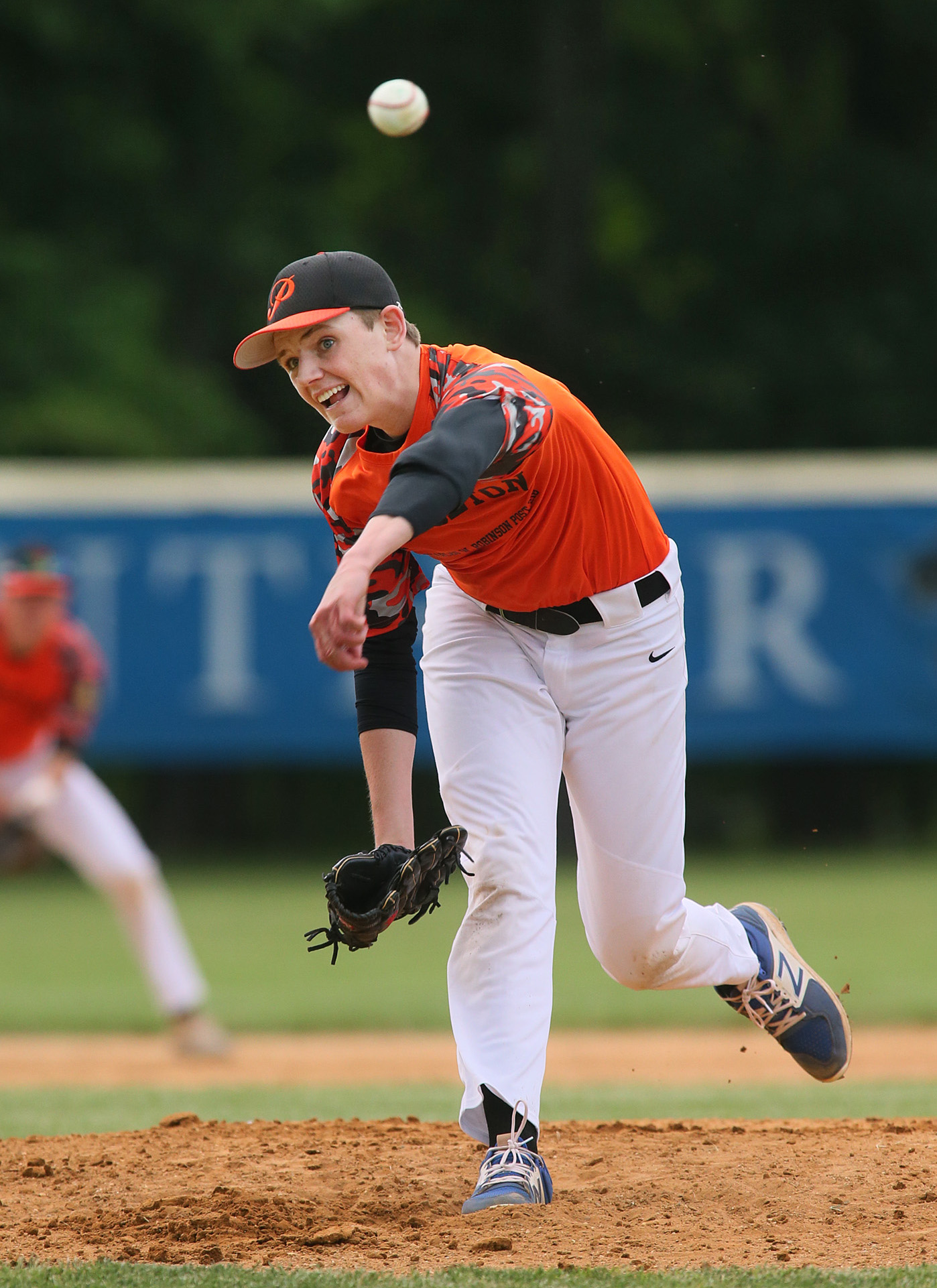 PHS Standout Pitcher Durbin Shows His Stuff As Post 218